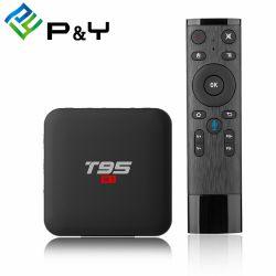 T95 Full HD S1 Android TV Box con voz Remote