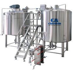 Cassman новый дизайн пиво оборудование 2000L 3000L готовое Micro пива системы