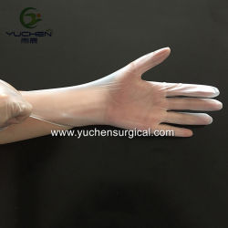 Commerce de gros de la poudre de haute qualité libre gants jetables en vinyle pour laboratoire