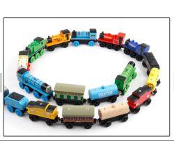 Conjunto de brinquedos de madeira Thomas Mini magnética de Trem Thomas Madeira Conjunto de trem