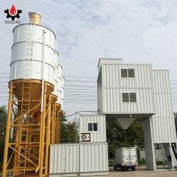 Planta mezcladora de 25m3/H- 180m3/H parado el equipo de procesamiento por lotes lotes en venta Planta de hormigón