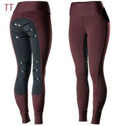 Micro femmes Jodhpurs équestre de silicone culottes siège complet de l'équitation le pantalon collant