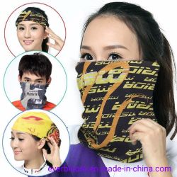 Multifunktionale Sublimation Custom Printed Bandana Tube Neck Gamasche Kopfbedeckung