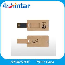Новая акция мини-карту памяти USB Memory Stick подарок дружественность к USB флэш-диск дерева карты флэш-накопитель USB