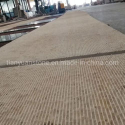 Pisos de pedra calcária bege Pavimentadoras ladrilhos para decoração exterior