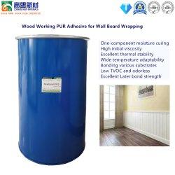 PVC 프로파일 래핑 기계용 HotMelt PUR 접착 글루