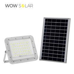 Fabriek goede prijs waterdichte zonnelamp Outdoor klein en compact Oplaadbare LED-schijnwerpers op zonne-energie van 60 watt en 100 watt