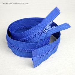 Groothandel fabriek productie #5 Open End Resin Zipper Eco-Friendly for Jassen Bagage Hoodie
