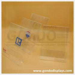 "Hoogwaardig bureau A4, A5 L-vormig en T-vormig afgeschuinde PMMA/Plexiglas/Crystal/Plastic/PC/Perspex Pop Clear Acryl Sign Holder Display stand 8.5 ""X 11"""