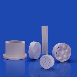China Proveedor personalizado de técnicas de aislamiento de precisión Industrial Al2O3 de piezas de cerámica de alúmina