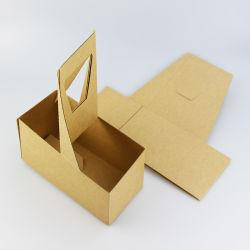 Supporto di tazza ecologico del caffè del documento ondulato per la casella di carta impaccante del Takeaway