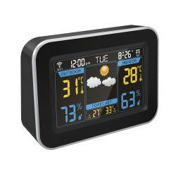 Display LCD grande Weather Station Reloj Despertador con visualización de la temperatura interior/exterior