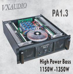 Audioversterker met geluidskwaliteit van 1150 W tot 1350 W, crossover, geen SMD-vermogen Versterker (PA1.3)