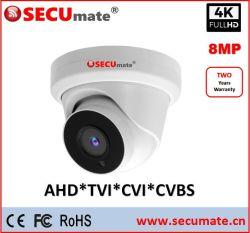 8MP 4K Hikvision Poc 안전 CCTV 감시 사진기