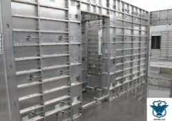 Construction en béton Béton coffrage en aluminium/cadres moule