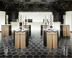 Fixações de loja de varejo do visor de vidro montada na parede Showcase prateleira para produtos cosméticos
