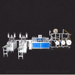 フルオートの高速使い捨て可能な3つの層Earloopの耳ベルトの機械を作るNonwoven Foldable医学の外科マスクの製造業生産