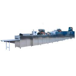 Automatische het Deponeren van het Suikergoed van de Chocoladereep het Gieten van de Chocolade van de Lijn van het Afgietsel Productie met KoelTunnel
