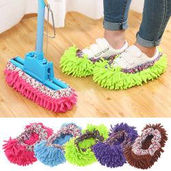 Boomjoy Multifunktionale Polyester Reinigung Slipper Schuhe / Mop Boden Wipe Pantoffeln-Abdeckung Für Die Reinigung Von Staub-/Bodenreinigern