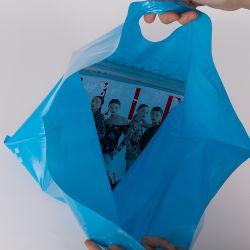[ب] بلاستيكيّة يعبر يموت حقيبة مع مقبض, عامة قطعة هبة يتسوّق كيس من البلاستيك