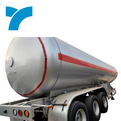 Aluminiumlegierung 50000 Liter-Heizöl-Treibstoff-Becken-halb Schlussteil-LKW auf Verkauf