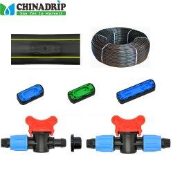 滴りラインのためのロックナットの付属品農場の用水系統で使用する
