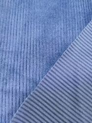 Polyester velours côtelé vêtement Vêtements Veste polaire uniforme s'étirer Spandex tissu velours côtelé
