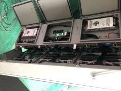 IP68 водонепроницаемый алюминиевый модуль P8 для использования вне помещений под руководством кабинета экран с передней панели