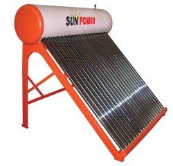 chauffe-eau solaire avec tube sous vide/économie d'énergie de chauffage/de basse pression chauffe-eau solaire
