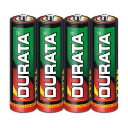 Durata R6 AA 사이즈 징크 카본 초중부하 작업용 아연 SP4-24 카운트를 위한 탄소 드라이 셀 배터리