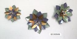 Metallwand-Kunst mit Blume für Innendekoration-Wand-Dekor
