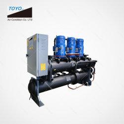 R134A R410A R407c R22 промышленного охлаждения воды в качестве источника тепловой насос системы водяного охлаждения системы кондиционирования воздуха