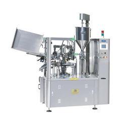 Plástico Automático/ Colar Metal cuidados da pele Cosméticos Pharma Use Tubo de Creme de Mãos Facial máquina de enchimento e selagem