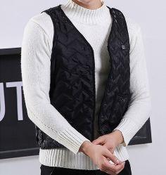 Unisex Smart Electric Vest Winter Jacket Voor Volwassenen