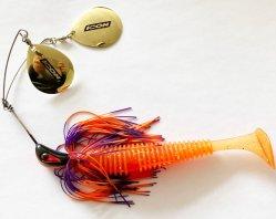 OEMのブランドの柔らかいテール紡績工の餌釣魅惑の刃の餌