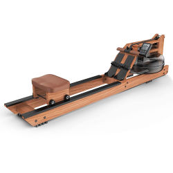Домашняя фитнес-твердой древесины Scull воздуха воды оптовой крана Rower гребной лодке машины