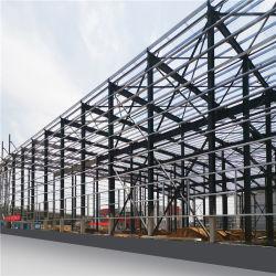 Pré-fabricada Prefab PEB estrutura de Aço Hangar Warehouse Workshop de Aço Para o abrigo Aeroporto aves casa fábrica Cow Building