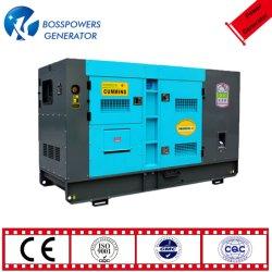 60Hz monophasé 220V 100KW 100kVA Puissance Cummins insonorisées / silencieux Générateur Diesel de moniteur avec le démarrage à distance