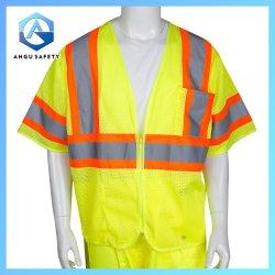 ملابس العمل المرورية الحماية التأملية ارتداء الملابس السلامة رؤية عالية