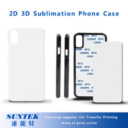 Plastic blanco Sublimation Cell Phone cover