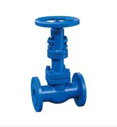API ANSI DIN ベローズシール電動空圧上昇ステム / オイル水蒸気に使用される立ち上がりステムなし WCB ベベルギヤ 中国ゲートバルブ