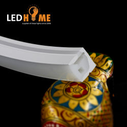 Anti-UV nenhum LED de exterior amarelada Corda de Neon LED Flex Perfil de luz Linear