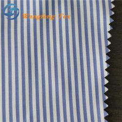 Estiramento elevada Stripe T400 Forro de poliéster para o vestuário de malha