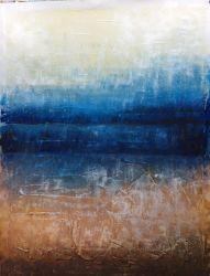Handmade paysage Huile sur toile peintures abstraites pour décoration d'accueil