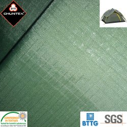 防水PU上塗を施してあるRipstopのナイロンタフタのキャンプテント屋外ファブリック