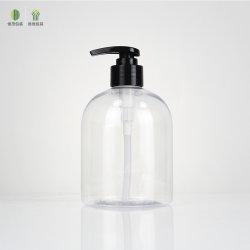 Desinfizierer-kosmetische Haustier-Plastikflasche der Fabrik-Großhandelshand500ml mit Pumpe