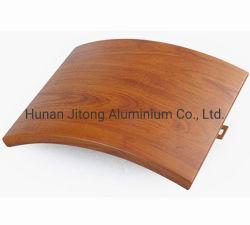 Alluminio del rivestimento della facciata del comitato curvo alluminio del rivestimento della parete perforata di Alucobond
