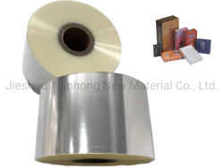 BOPP Película térmica normal Jumbo material de embalaje de plástico rollo de película de BOPP para caja de cigarrillos