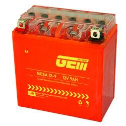Batteria acida al piombo 12V9ah del gel del motociclo sigillata prezzo