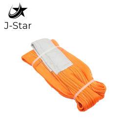 Sicurezza piana personalizzata della cinghia dell'imbracatura della tessitura del poliestere dell'imbracatura di sollevamento